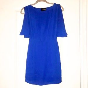 Royal blue cocktail dress size small